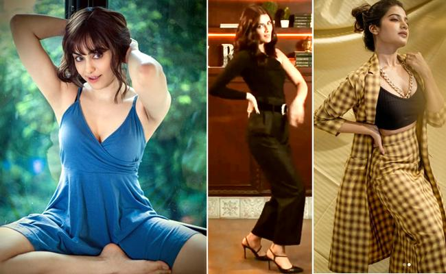 Social Hulchul: Kriti Sanon, Sreemukhi Share Dance Videos - Sakshi