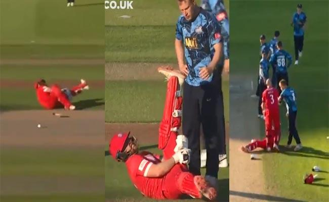 Batsman Collapsed MidPitch Between Wickets Joe Root Says Not Run Out - Sakshi
