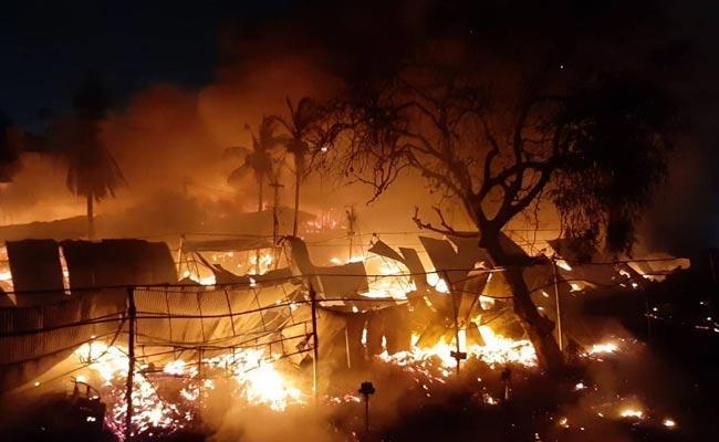 One Women Life Ends In Jeedimetla Fire Accident - Sakshi