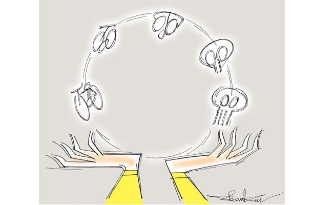 Vardhelli Murali Article On TDP Politics - Sakshi