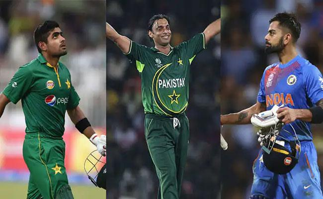 No Place For Kohli And Babar Azam In Shoaib Akhtars All Time ODI XI - Sakshi