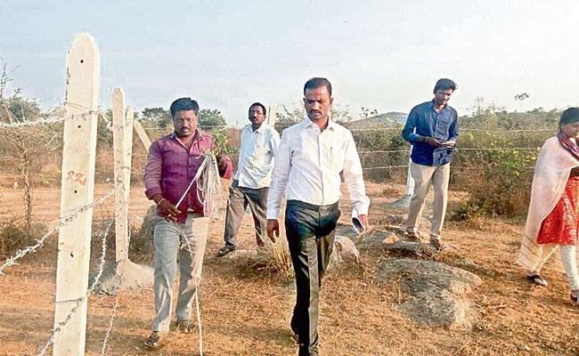 Hyderabad: Kapra Tahsildar Fires On Kabja Issue Over Government Lands - Sakshi