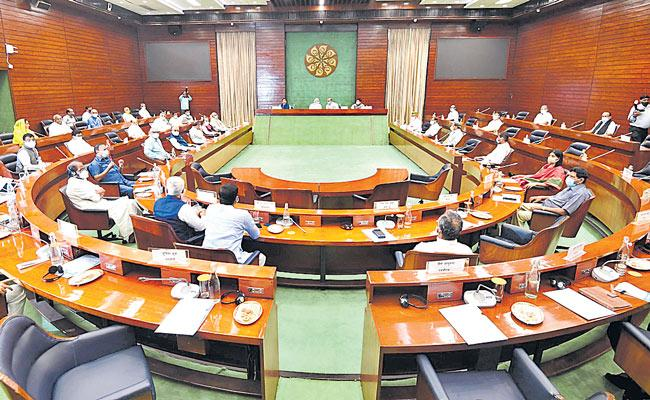 PM Narendra Modi chairs all-party meeting at Parliament - Sakshi