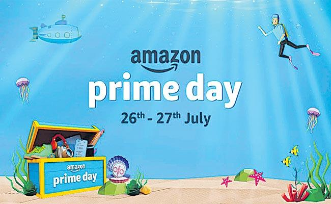 Amazon India:Prime Day Small Businesses Launch of 2,400 Products - Sakshi