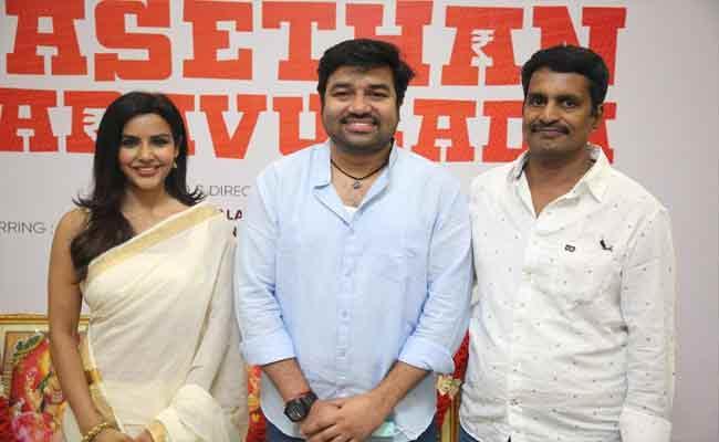 Shiva And Priya Anand Team Up For Kasethan Kadavulada Remake - Sakshi