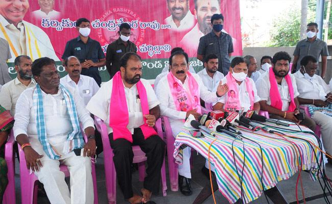 TRS Party State Secretary Comments On Central Government - Sakshi