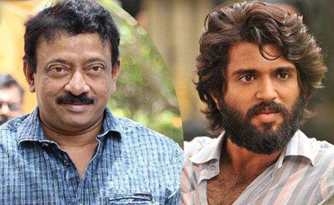 Ram Gopal Varma Tweet About Vijay Devarakonda In Liger Movie - Sakshi