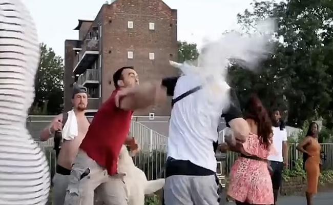 Man Breaks Bottle On Opponent Bald Head Over Dogs Row - Sakshi