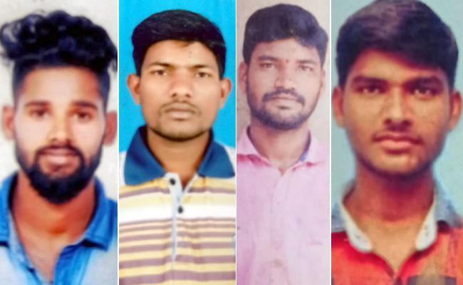 Srikakulam District Fishermens Missing In Sea - Sakshi