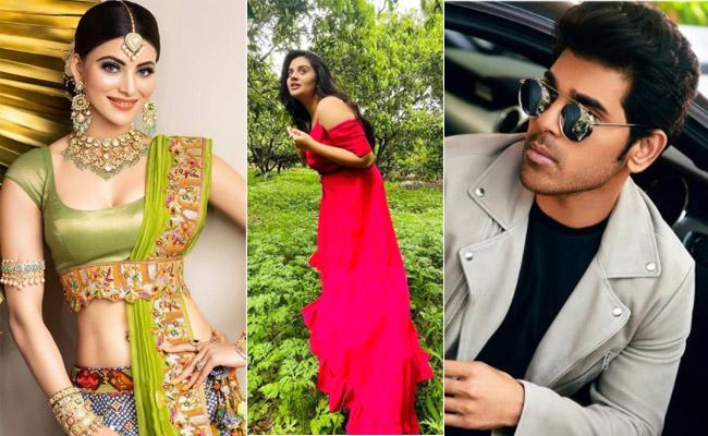 Social Hulchul: Urvashi Rautela, Sreemukhi Share Photos - Sakshi