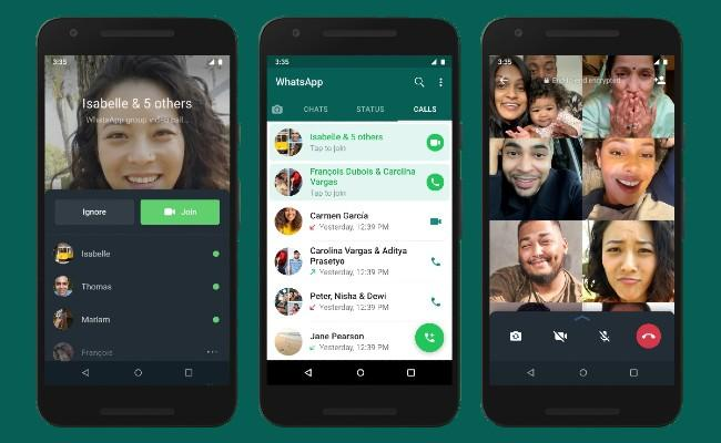 WhatsApp Rolls out Joinable Group Call Feature - Sakshi