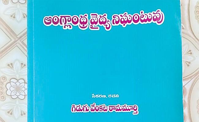 ABK Prasad Article On Medical Dictionary - Sakshi
