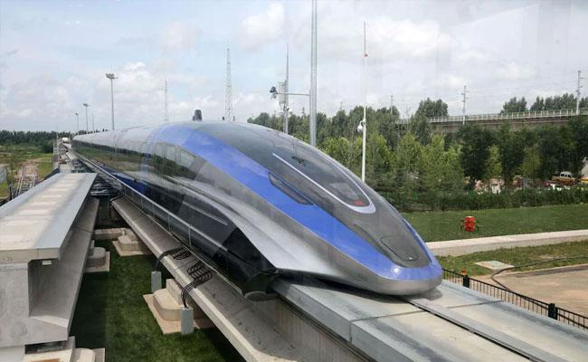 China Unveils New Maglev Train That Levitated - Sakshi