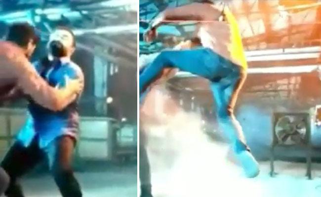 Actor Vishal Get Severe Back Injury While Shooting Action Scene - Sakshi