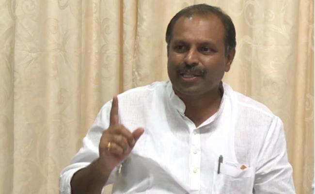 Gadikota Srikanth Reddy Slams Chandrababu Irrigation Projects Issues - Sakshi