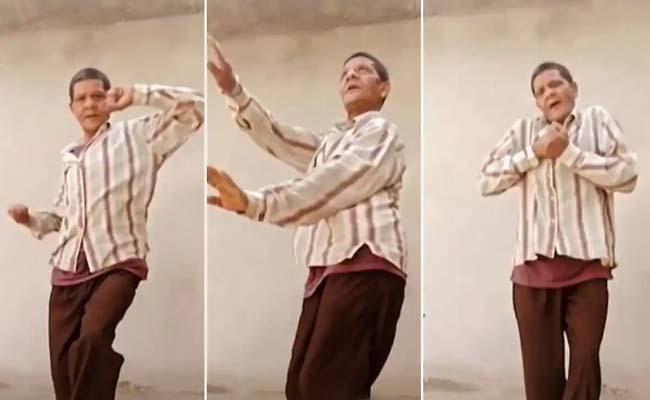 Uncle dances to Sajna Tere Pyar Mein Viral video - Sakshi