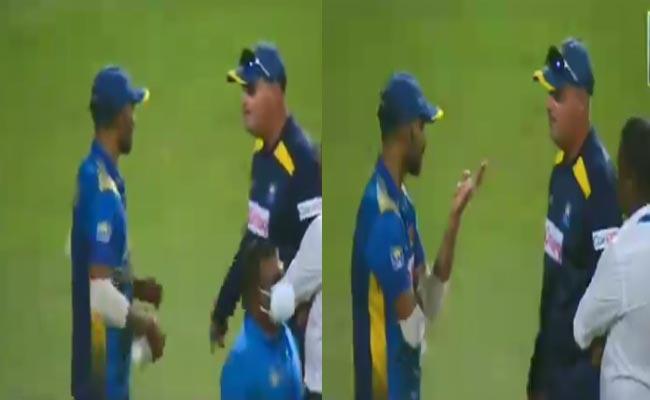 IND Vs SL: Sri Lanka Coach Arthur Captain Shanaka Heat Argument After Loss - Sakshi