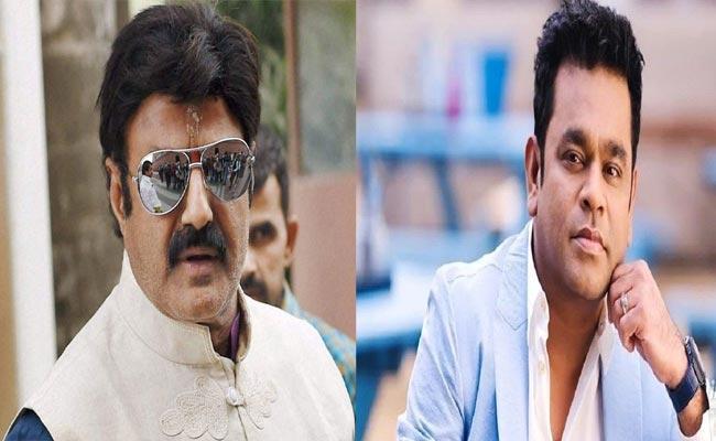 Nandamuri Balakrishna Gets Trolled For He doesnot Know Who AR Rahman - Sakshi