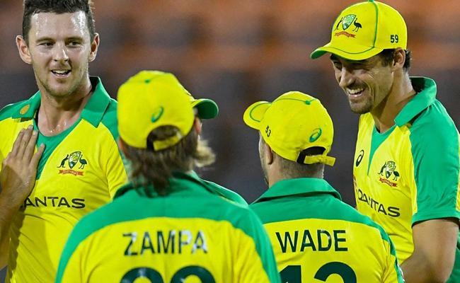 WI Vs AUS: Australia Won 1st ODI Beat West Indies By 133 Runs - Sakshi