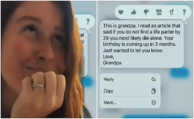 Girl Shares Conversations With Grandfather On TikTok Viral On Social Media - Sakshi