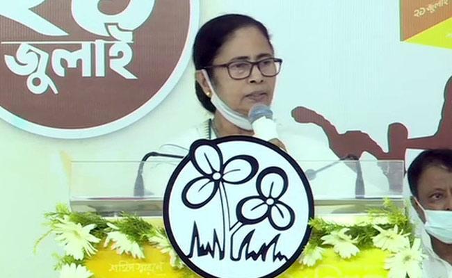 Pegasus Row: Bengal CM Mamata Banerjee Attacks On Modi - Sakshi