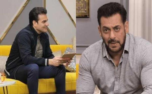 Salman Khan Responds to Claims He Has A Wife, Daughter in Dubai - Sakshi