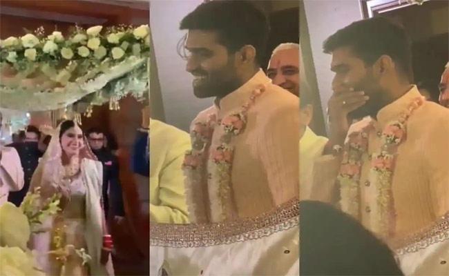 Bride Surprises Her Groom By Wearing A Lehenga He Loved On Their Wedding - Sakshi