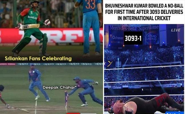 IND VS SRI: Fans Hilarious Memes And Trolls After India Super Victory - Sakshi