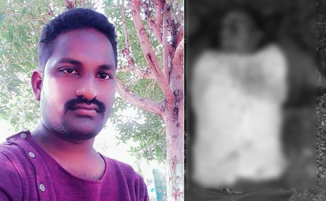Young Man Deceased In Road Accident In Kalasapadu Of Kadapa Distric - Sakshi