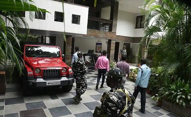 IT Raids On Dainik Bhaskar Group Offices - Sakshi