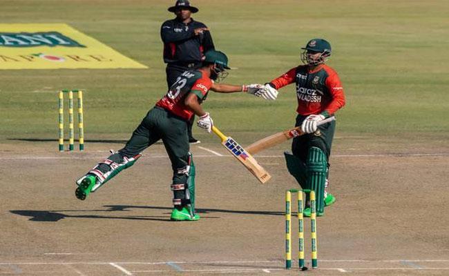ZIM vs BAN, 1st T20I: Sarkar, Naim fifties help Bangladesh beat Zimbabwe - Sakshi