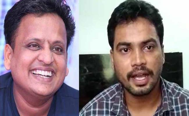 Shabareesh Harassing Director Prashanth Raj For Not Giving His Car - Sakshi