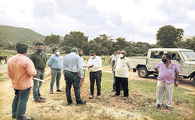 Andhra Pradesh Odisha Disputes continue At border area - Sakshi