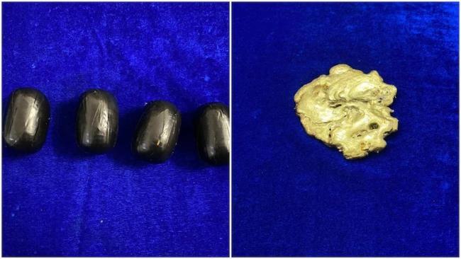 810 Grams Gold Worth 40 Lakh Seized At Chennai Airport - Sakshi
