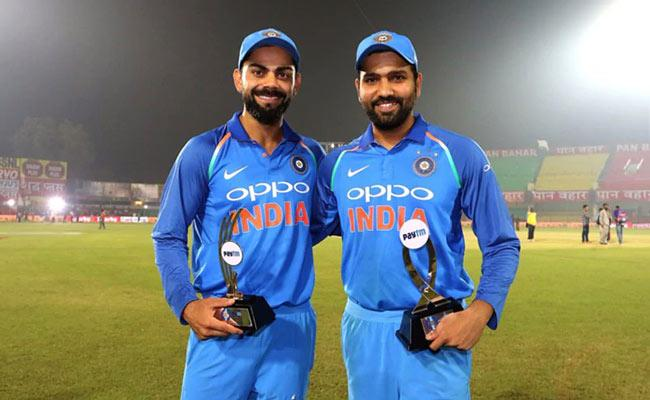 Virat Kohli, Rohit Sharma Occupy 2nd And 3rd Place In ICC Rankings 2021 - Sakshi