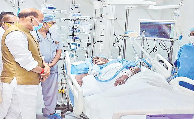 Former Uttar Pradesh CM Kalyan Singh Remains Critical - Sakshi