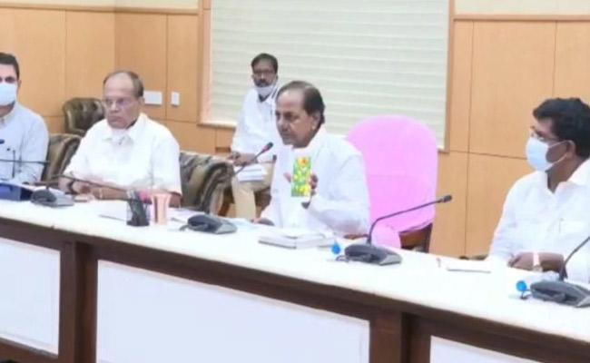 CM KCR Review Meeting On Heavy Rains - Sakshi
