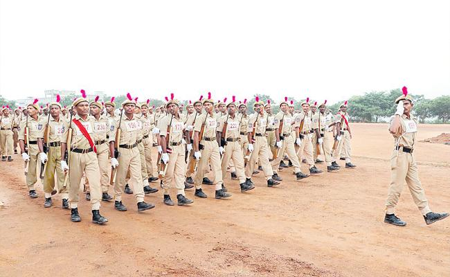 Passing Out Parade For Constables In Telangana Will be Held Today - Sakshi