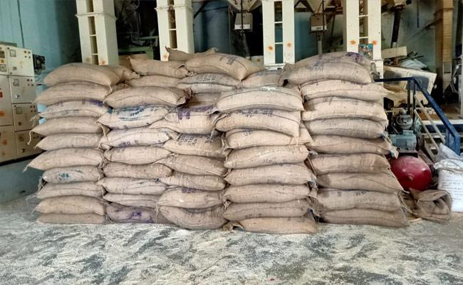 Subsidy Rice Fraud In Khammam - Sakshi