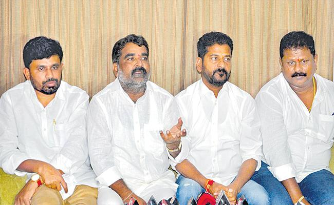 Sama Venkat Reddy Announces Joining Congress Party - Sakshi