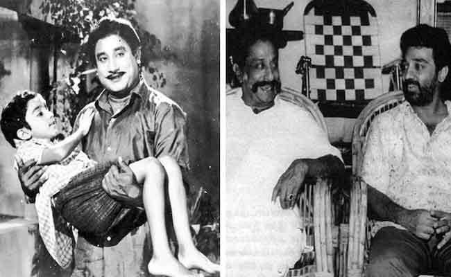 Kamal Haasan Remembers Sivaji Ganesan On His Death Anniversary - Sakshi