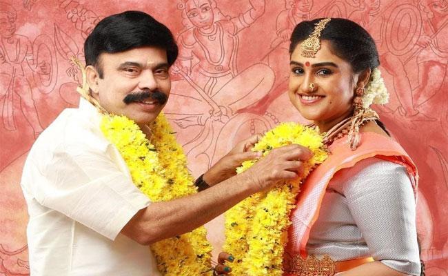 Actress Vanitha Vijaykumar Shares Her Marriage Photo On Twitter - Sakshi