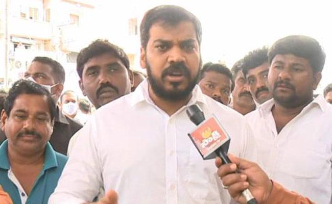 Minister Anil Kumar Yadav Counter Attack On Atchannaidu Comments - Sakshi