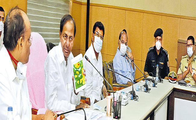 KCR Mandate officials to remain vigilant in the wake of heavy rains - Sakshi