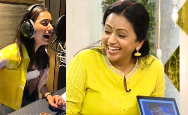 Social Hulchul: Rakul Preet Singh, Suma Kanakala Share Videos - Sakshi