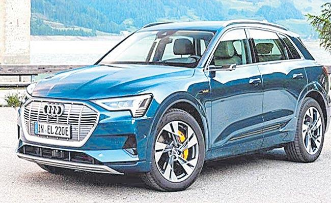 Audi Launched E-tron, E-tron Sportback Electric SUVs In India - Sakshi