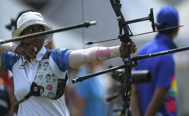 Tokyo Olympics: Deepika Kumari Finishes 9th in Womens Ranking Round - Sakshi