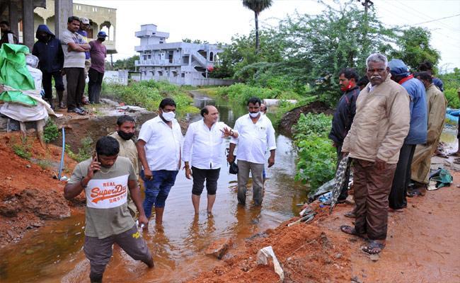Heavy Rain In Nalgonda District - Sakshi