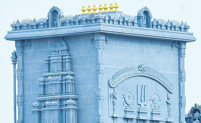 Yadagirigutta Chariot: Yadadri RathaShala Completed - Sakshi