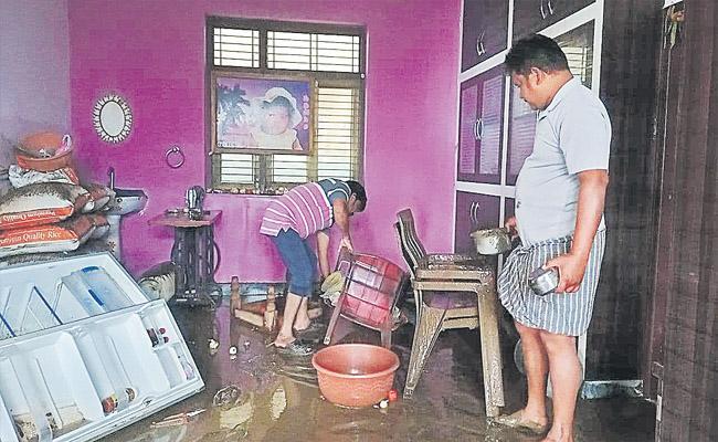 Telangana Heavy Rains Floods Damage Adilabad Nirmal District - Sakshi